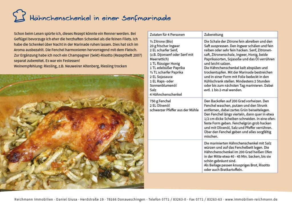 Rezept Kürbissuppe von Reichmann Immobilien in Donaueschingen